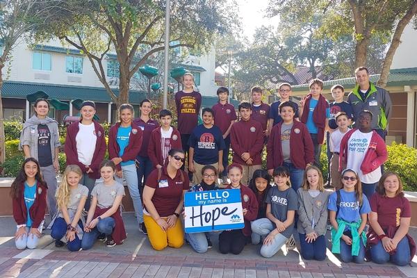 BCS students serving the community