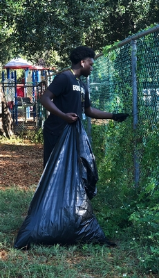 Student serves school community
